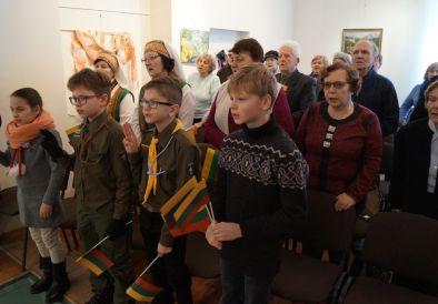 Sausio 13-osios minėjimas Jonavos krašto muziejuje