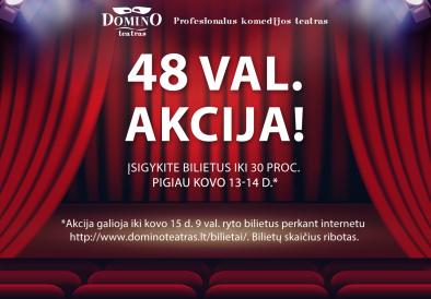 Domino teatro akcija