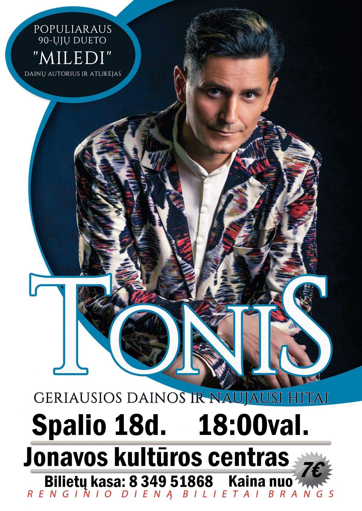 Tonis - koncertas Jonavoje