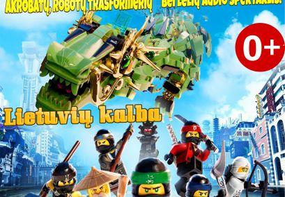 """Audio spektaklis su lėlėmis """"Nuotykiai LEGO mieste"""""""