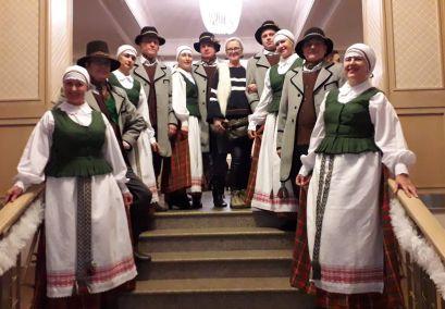 """""""Varūna""""  festivalyje - konkurse """"MERRY CHRISTMAS BALTIC AMBER 2018"""" pelnė II-ąją vietą"""