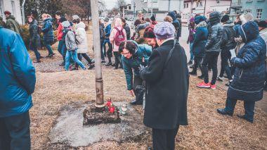 Kovo 10 d. žygis - žvakučių uždegimo akcija 2019