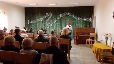 """Šilų kultūros centre įvyko muzikinis koncertas """"Tegul skamba..."""