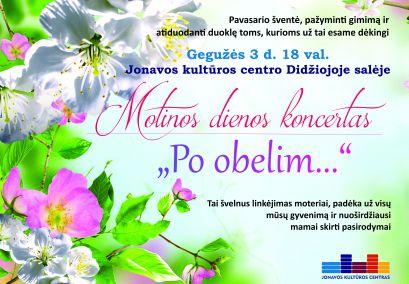 "Motinos dienos koncertas ""Po obelim..."""
