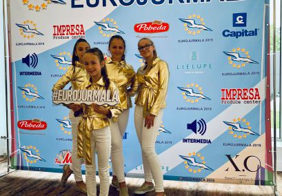 "JKC vaikų POP grupė ,,Šuldu Buldu"" Jūrmaloje laimėjo prizines vietas"