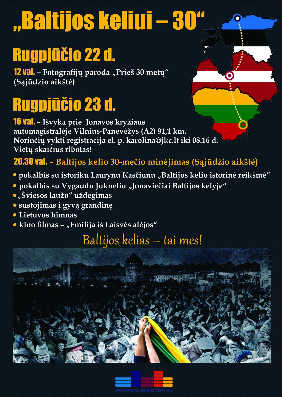 Baltijos keliui – 30