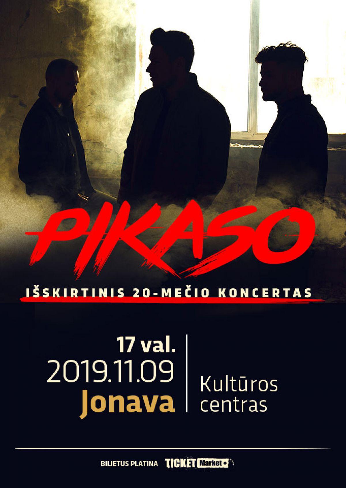 Išskirtinis Pikaso 20-mečio koncertas