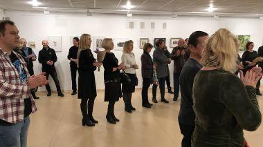 Jonavos rajono menininkų parodos atidarymas