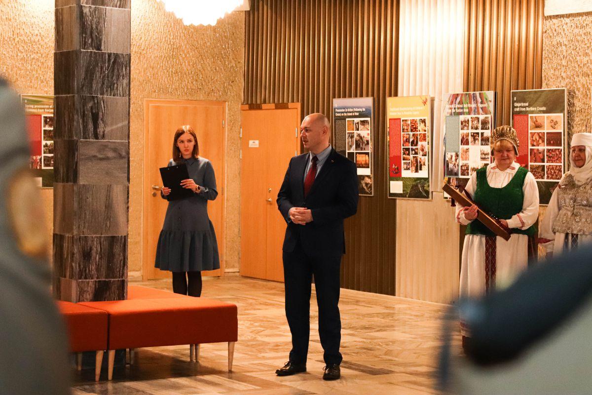 Atidaryta Kroatijos nematerialaus kultūros paveldo paroda