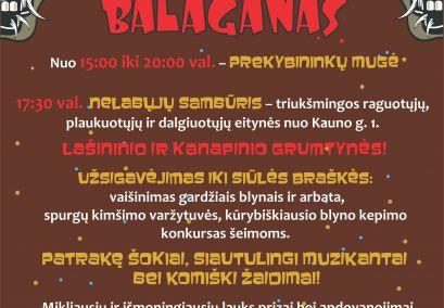 UŽGAVĖNIŲ BALAGANAS